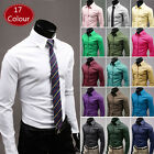 KCT124 17Colours New Mens Luxury Casual Slim Fit Stylish Dress Shirts