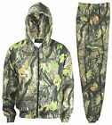 Mens Fleece Camouflage camo full zip tracksuit Hooded Top and Cargo Pant