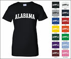 State of Alabama College Letter Woman's T-shirt