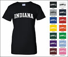 State of Indiana College Letter Woman's T-shirt