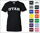 State of Utah College Letter Woman's T-shirt
