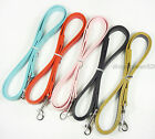 3 Colour Gator Leather Dog Leash Lead 3/4 inch wide 48 inch Length For Large Dog