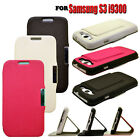 3 COLOUR MOBILE PHONE WALLET CASE COVER WITH STAND FOR SAMSUNG GALAXY S3 I9300