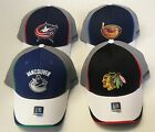 NHL Assorted Teams Reebok Curve Brim Cap Hat NEW