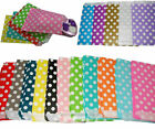 Polka Dot Paper Bags x 24 Lolly Loot Candy Buffet Wedding Party Favours Gift
