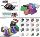 Aluminum Case *8 Pockets* Unisex Credit Card Holder Protect Scanning Wallets
