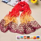 Hot Sell Colorful Korean Women Chiffon Feel Scarf Wrap Shawl Stole Soft Scarves