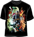 T-Shirt Tee MARVEL vs CAPCOM NEW Big-Screen (MEN/Adult) Black Licensed v5704ms