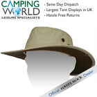 White Rock Outback Traveller Hat SAND - Hydro Cool and Bug Off + Pocket
