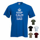 'Keep Calm I'm the Best Dad' - Pops, Fathers Day, Grandad Pa T-shirt Tee Gift