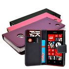 3 COLOUR PU LEATHER WALLET BOOK FLIP PHONE CASE COVER FOR NOKIA LUMIA N720 720
