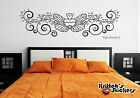 bedrooms with teal walls - BUTTERFLY WITH HEARTS Vinyl Wall Decal bedroom decor art pin stripe love B065