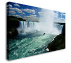 Niagara Falls Waterfall Landscape Art Wall Picture Canvas Art Cheap Print