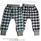 New Size 2-6Years   Boys Pants Kids Fashion Cotton Plaid Pants PB082