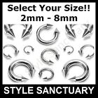 Circular Barbell Horseshoe Prince Albert PA Ear Nipple Bar CBB Heavy Piercing