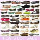 Wholesale Lot Sale Women Shoe Ballerina Ballet Flat Sandal Loafer Oxford Slip-On