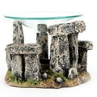 Stone Circle  Oil Burner ( Like Stonehenge  ) new  with free oil and tealight