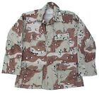 US Army Genuine Issue 6 Colour Choc Chip Desert Shirt in New and Unissued Cond.