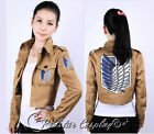 Attack on Titan Shingeki no Kyojin Recon Corps Scouting Legion Cosplay Jacket