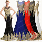 2015 Formal Evening Long Gown Party Prom Ball Bridesmaid Dresses Sequins Mermaid