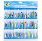 Lot Kinds of Fishing Lures Crankbait Minnow Poper Bass Baits Hooks Tackle