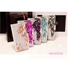 Deluxe Elegant Diamond Pu Leather Wallet Case Cover For Iphone 4 4s 4G Lady Gift