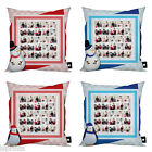 PERSONALISED CHRISTMAS PHOTO COLLAGE GIFT CUSHION PHOTOMONTAGE IDEAL XMAS GIFT