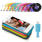 1m Flat Noodle Usb Data Charger Cable For Iphone 6 5 5s Ipod Nano 7 Ipod Touch 5