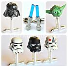 LEGO® STAR WARS CUFFLINKS STORMTROOPER DARTH VADER YODA LIGHTSABER WEDDING GIFT £4.99 GBP on eBay