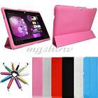 Ultra Slim Leather Case Cover Stand For Samsung Galaxy Note 10.1 N8000 N8010 New