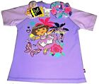 Dora the Explorer Swim Shirt Sun Rashie UPF50+ & Bonus Scrunchie New Girls Kids