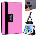 New! Kroo P2 Universal Adjustable Folio Stand Cover for Tablets & E-Readers