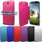 New Slim  Flip Case Battery Cover For Samsung GALAXY SIV S4 I9500