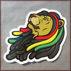 Lion of Judah Sticker decal vinyl rasta rastafari jamaica reggae ethiopia vw car