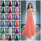New Chiffon Long Homecoming Prom Bridesmaids Dresses Evening Party Gowns 6-26