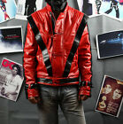 Michael Jackson MJ Costume Thriller Jacket Replica Free Billie Jean Glove