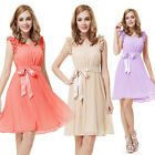 Womens Short Mini Cocktail Bridesmaid Party Dress 03717 Size 6 8 10 12 14 16 18