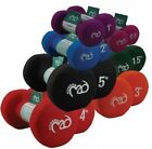 FITNESS MAD PAIR OF NEO NEOPRENE DUMBBELLS HAND WEIGHTS