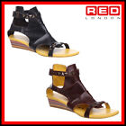 WOMENS LADIES WEDGE FIRETRAP GLADIATOR SUMMER BEACH CASUAL SANDALS SIZE  4  5 7