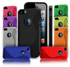NEW S Line Gel Case Cover For Apple iPhone 5 IPHONE 5 5S + SCREEN PROTECTOR