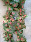 "94.49"" Artificial Ivy Leaf Garland Plants Vine Fake Foliage Flowers Home Decor"