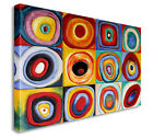 Wasily Kandinsky (1866–1944): Farbstudie Quadrate Canvas Art Cheap Print
