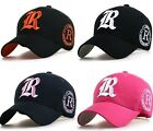 new baseball cap men &women R logo embroidery golf sports hats ball caps unisex