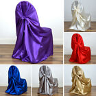 50 pcs SATIN UNIVERSAL Pillowcase CHAIR COVERS Wedding Party Ceremony Supplies