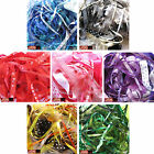 Bundle of mixed ribbon off cuts, 10 metres, assorted colours/sizes, high quality