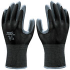 SHOWA 370 Assembly Grip Gloves - Nitrile Palm Coated - Black