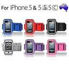 1 x NEW Sports Armband Slim Light Weight CASE FOR APPLE iPHONE 5 & 5S & 5C GEN