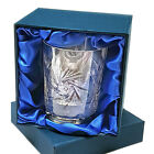 HAND CUT WHISKY TUMBLER LUXURY BOX 24% Lead Crystal Glass Ideal New Gift 25% OFF