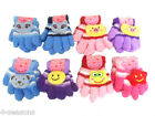 CHILDRENS GIRLS BOYS 3D WINTER WARM COSY SOFT FEATHER TOUCH GLOVES MITTENS