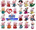 Ty Peppa Pig and Friends Beanies and Buddies - Soft Plush Teddy Toys